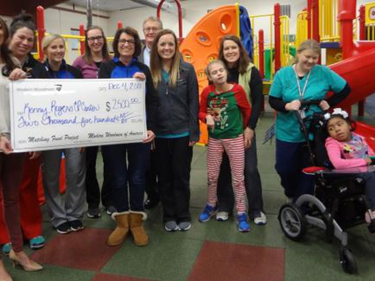 $2,500 donation to special needs children