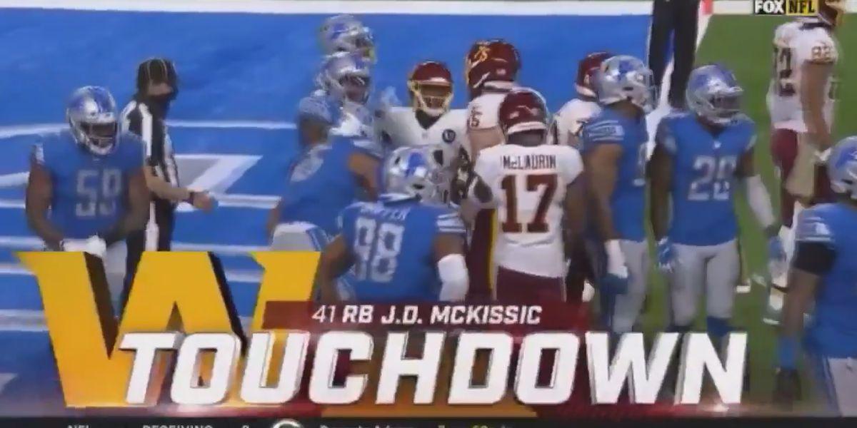 J.D. McKissic scores first touchdown of 2020