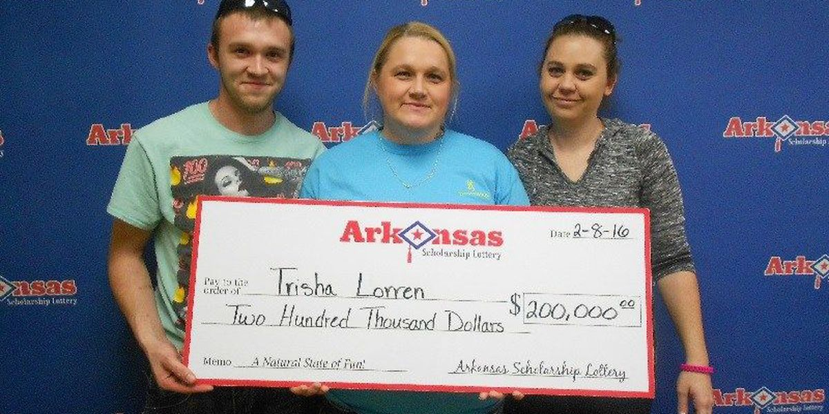 Lawrence County woman 'wins big' with lottery