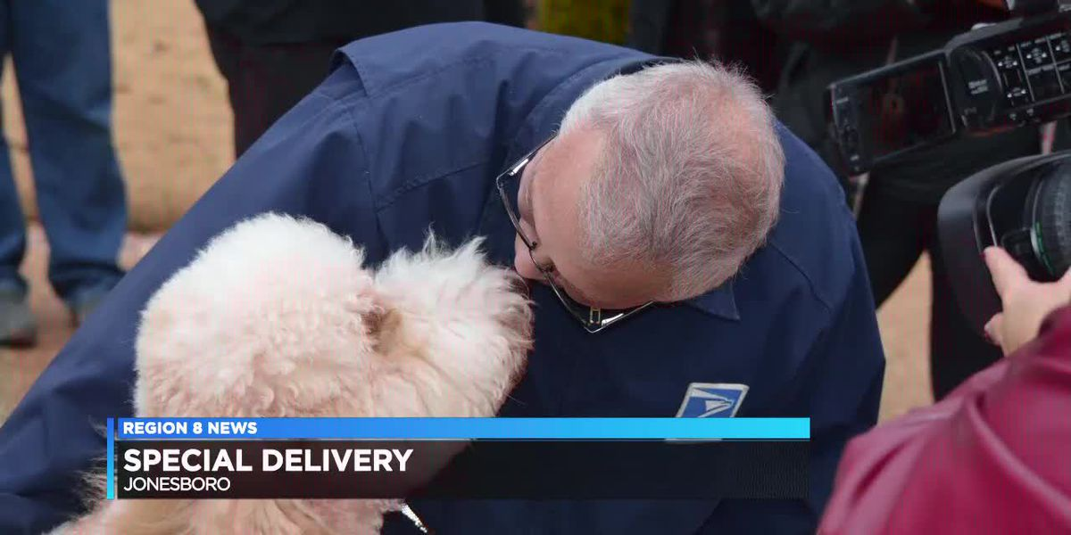 Neighborhood delivers big surprise for special mail carrier