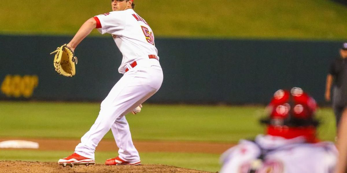 Mayers Named Cardinals Minor League Pitcher of the Month