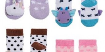 22,000 baby socks recalled due to ornaments detaching, choking hazard