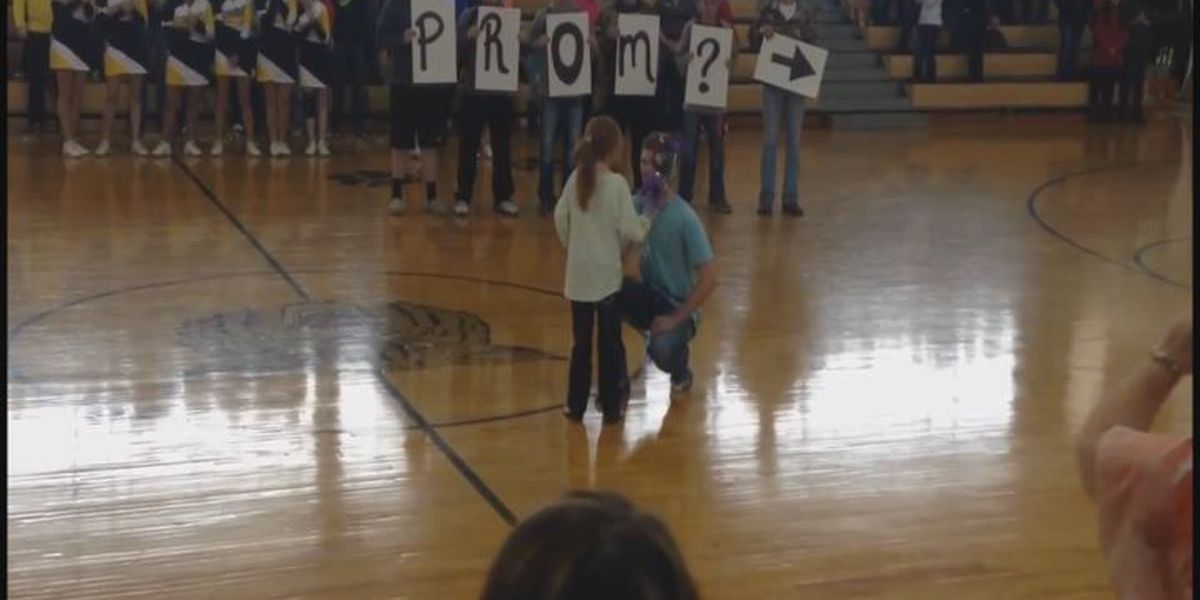 Special AR 'prom-posal' goes viral