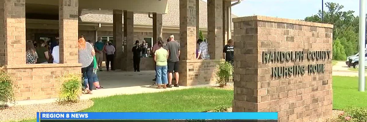 Churches, community members gather to pray for Randolph County nursing home residents, staff