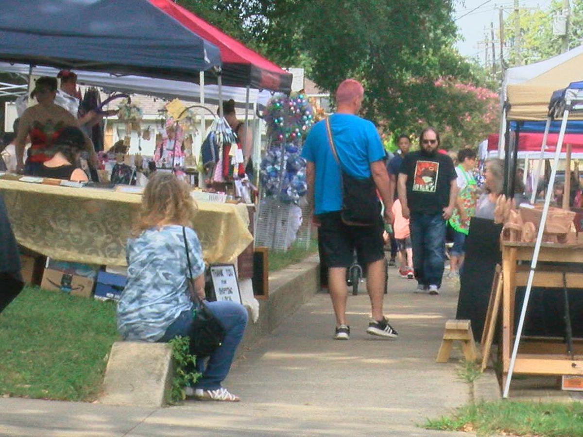 Jonesboro Fair 2020.Sidewalks Line Up With Local Vendors At Arts And Crafts Fair