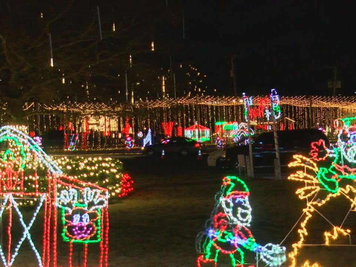 White River Winter Wonderland takes over Riverside Park in Batesville