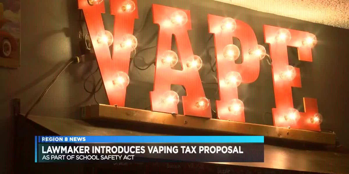 Arkansas lawmaker proposes vaping tax