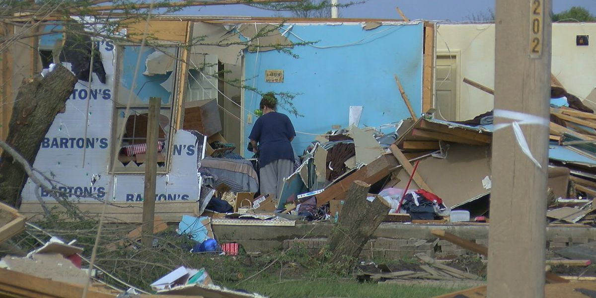 Jonesboro tornado debris dumping on Strawfloor Road ends May 29