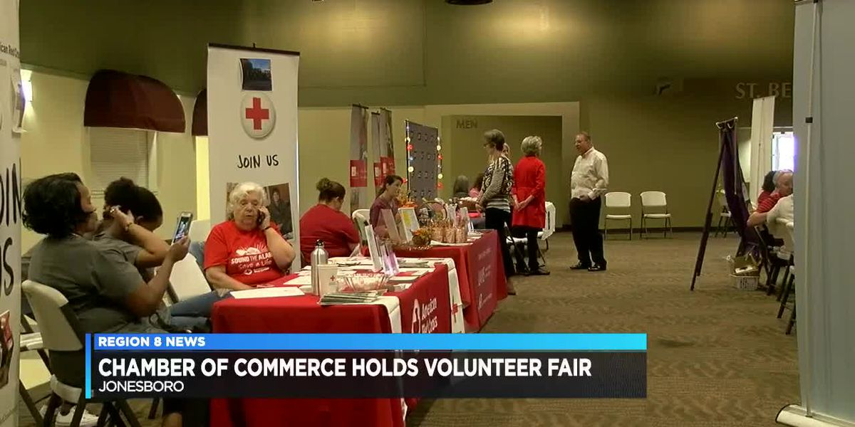 Chamber of Commerce holds volunteer fair