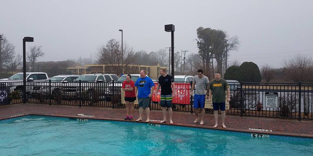 Special Olympics Polar Plunge held in Blytheville