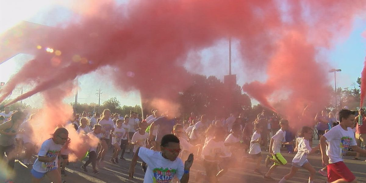 Kids' Color Run helps community's health through fitness