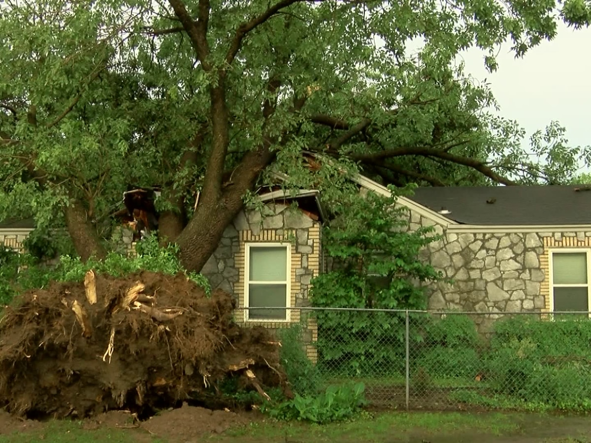 Severe storms cause damage, power outages in eastern Arkansas