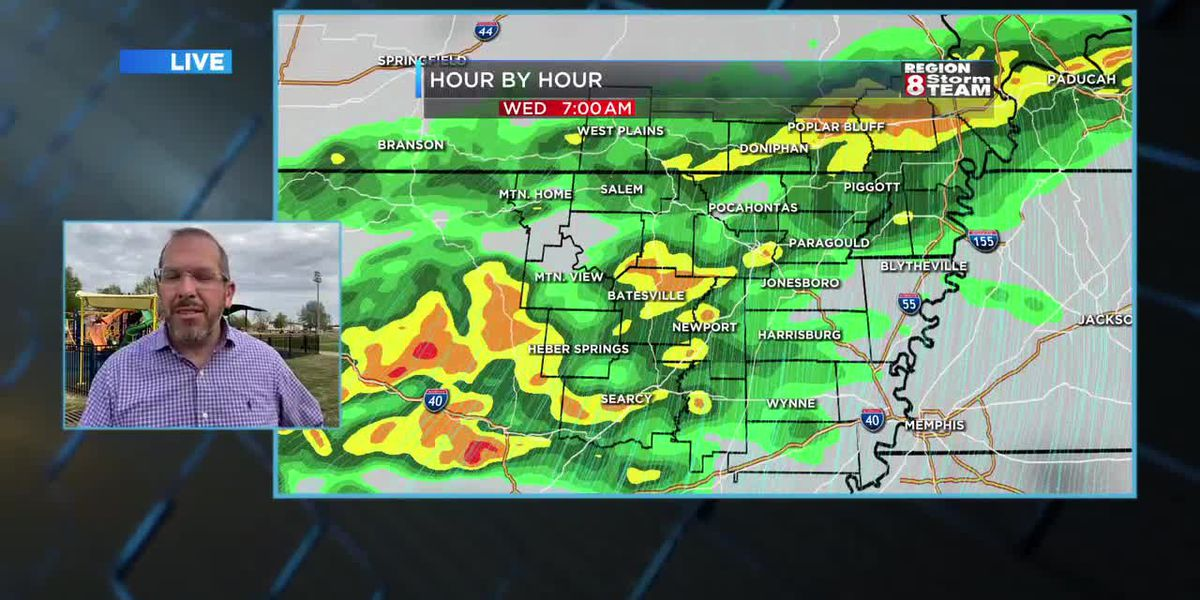 Ryan's Tuesday Evening Forecast (4/13)