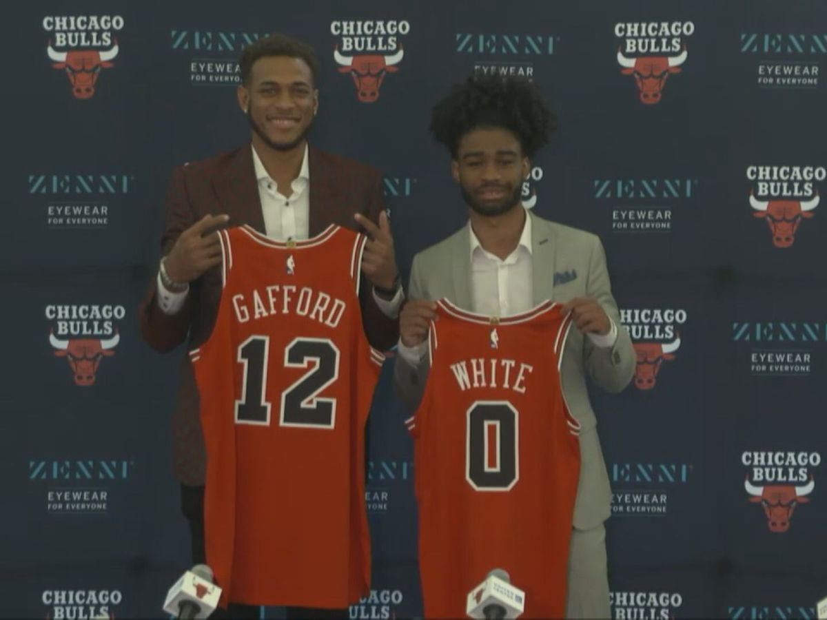Gafford introduced by Bulls on Monday