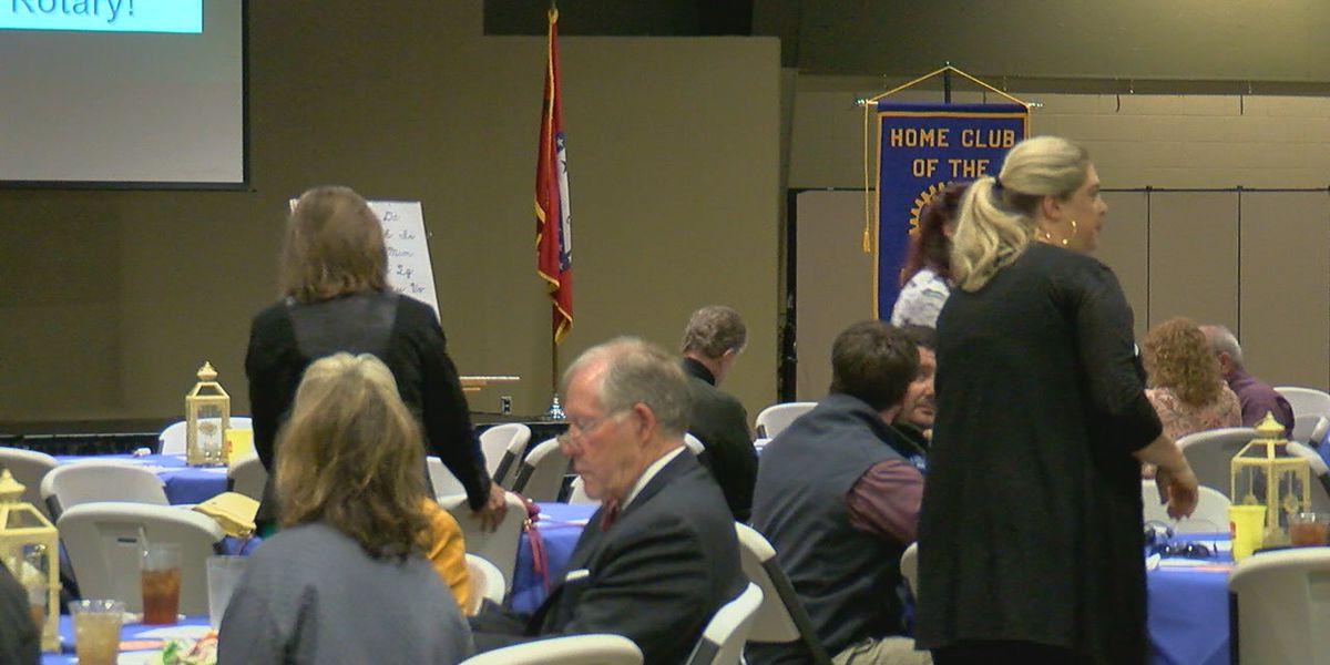 Polio survivor shares story at Rotary Club of Jonesboro