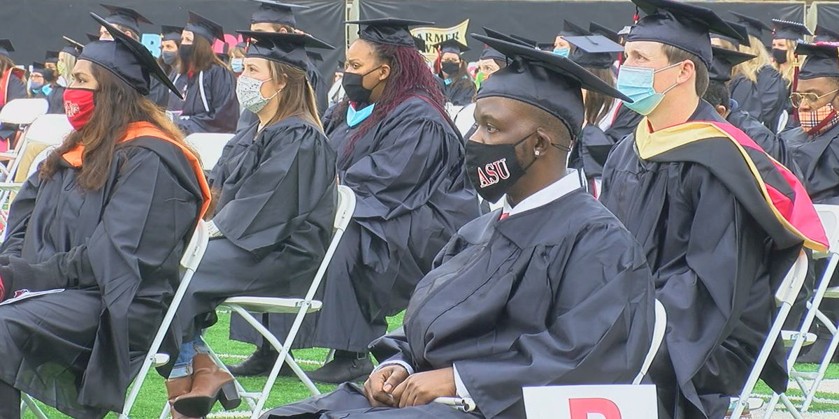 A-State celebrates Fall graduates amidst the pandemic