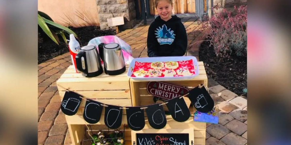 Calif. girl, 5, sells cookies and cocoa to cover classmates' lunch debts