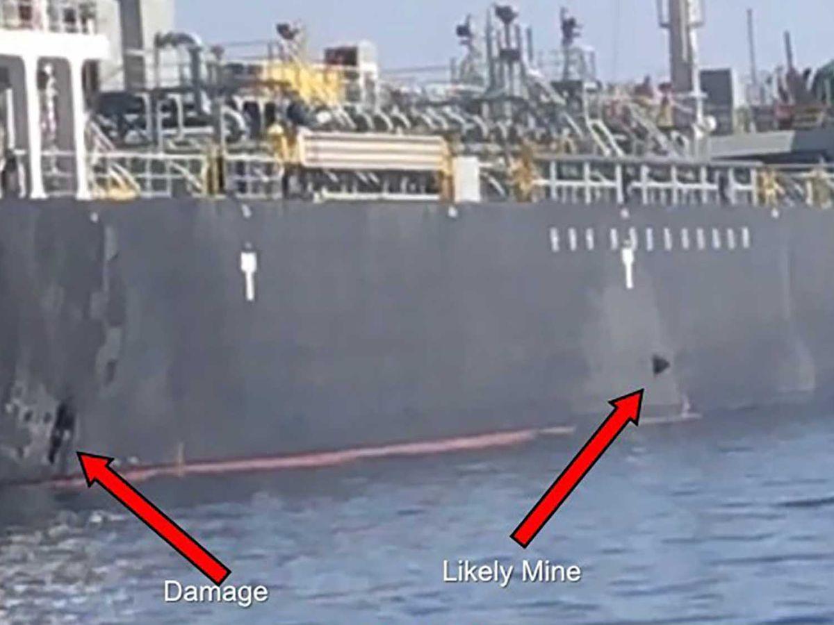 Trump blames Iran for tanker attacks but calls for talks