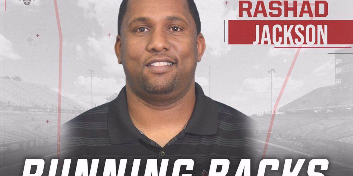 Arkansas State names Rashad Jackson as running backs coach