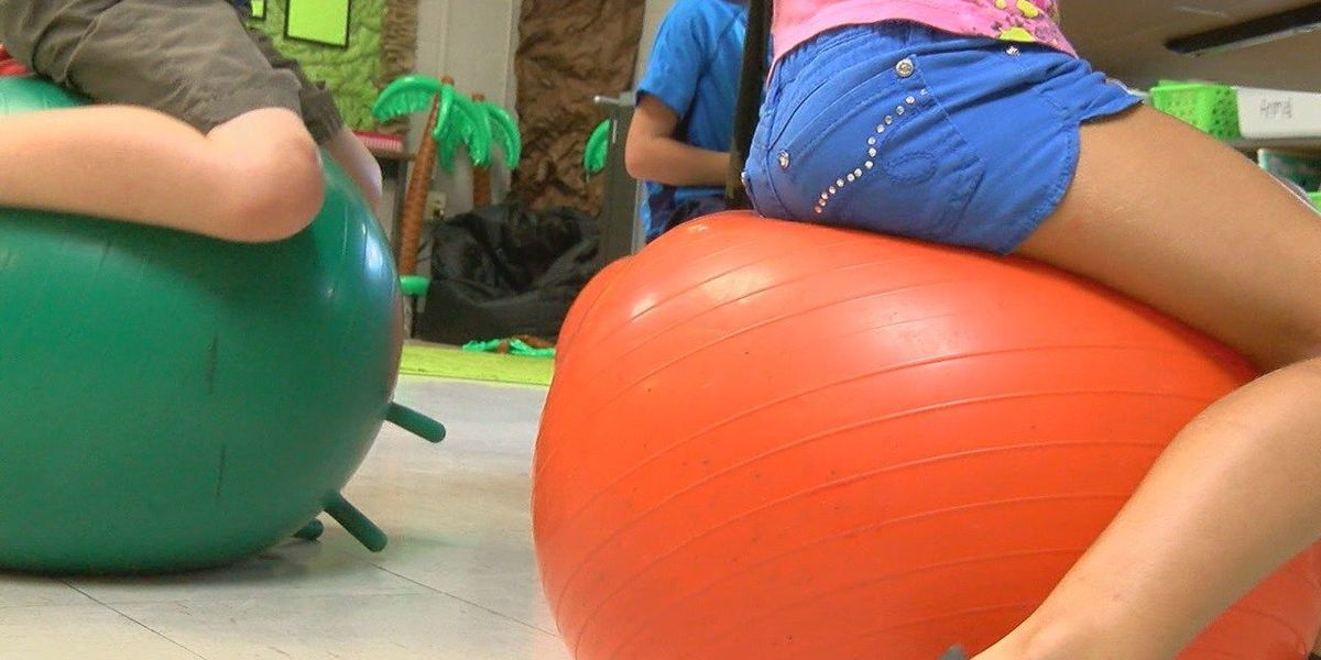 Community members donate to special education class