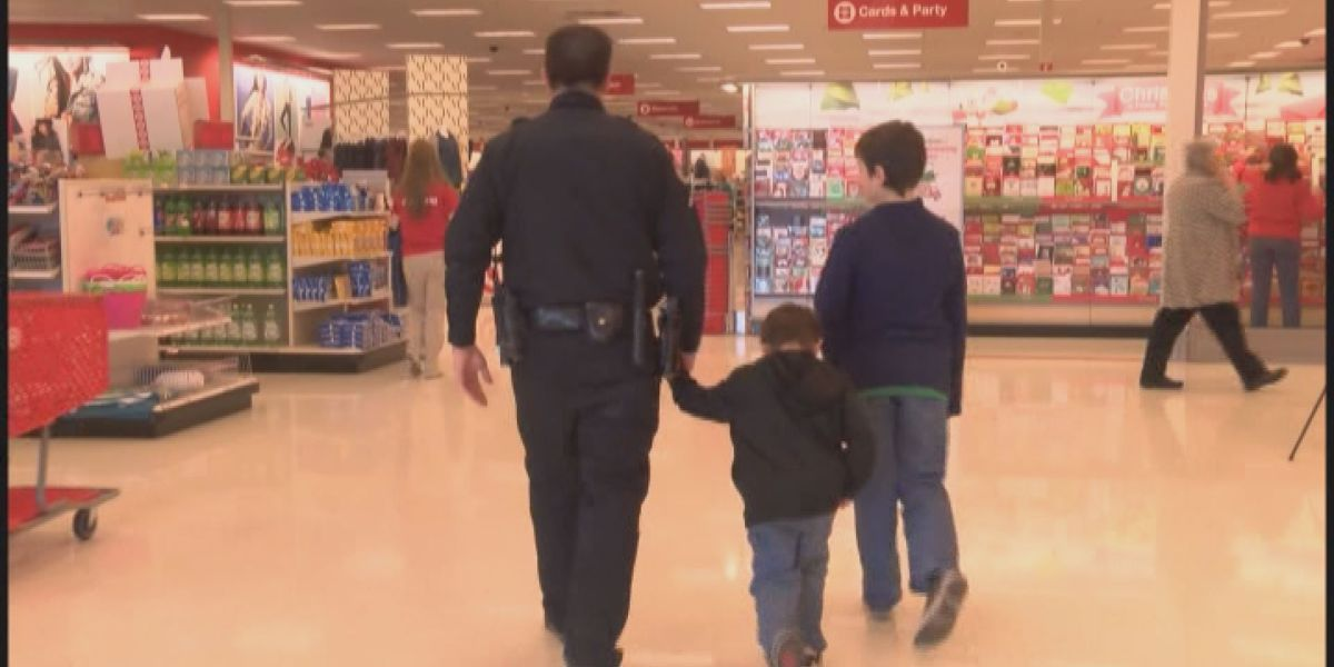 Children in foster care go on shopping spree