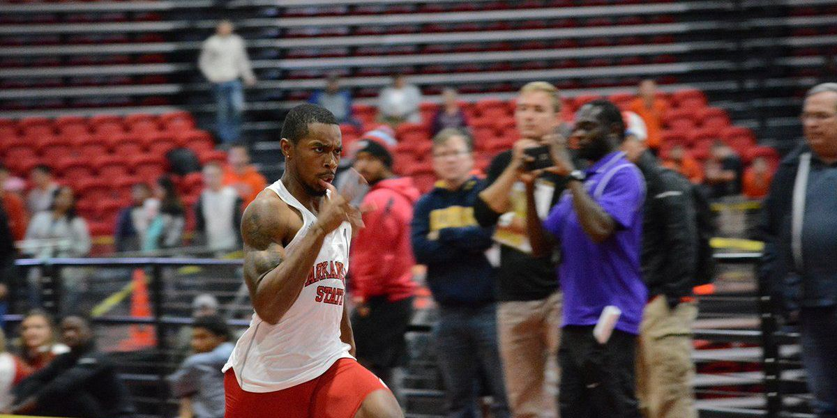 Jaylen Bacon Named Sun Belt Conference Track Athlete of The Week