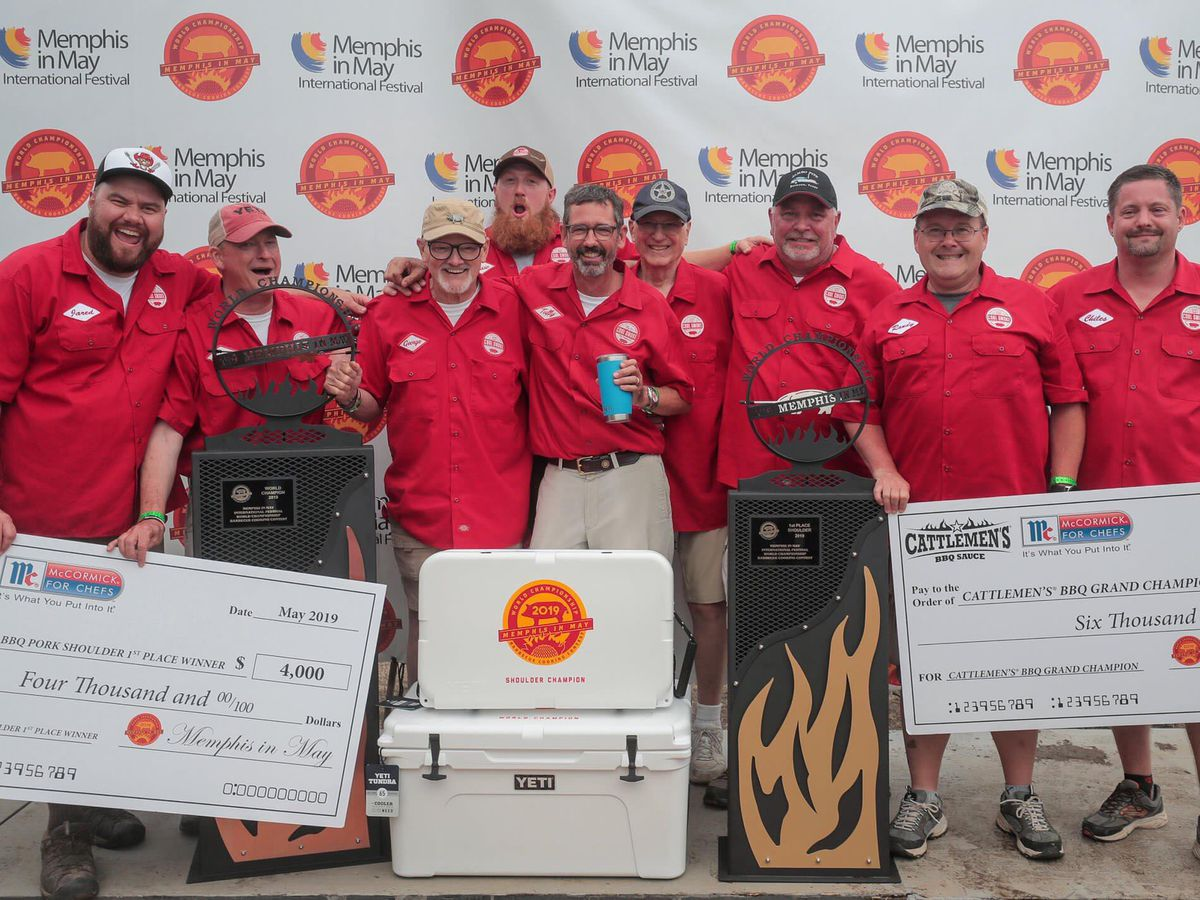Memphis in May announces winners of 2019 World Championship Barbecue Cooking Contest