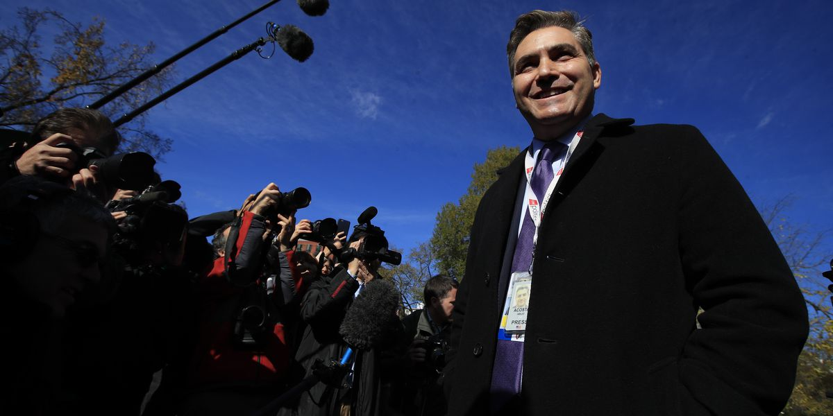 CNN's Acosta back at White House after judge's ruling
