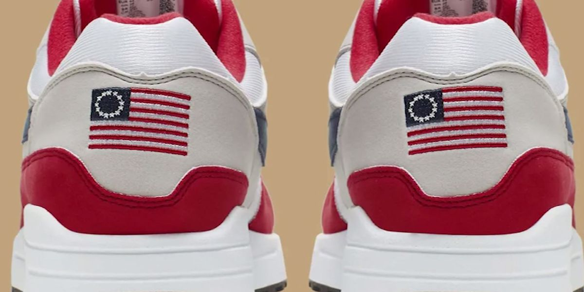 Report: Nike pulls Betsy Ross flag sneaker after Kaepernick complaint