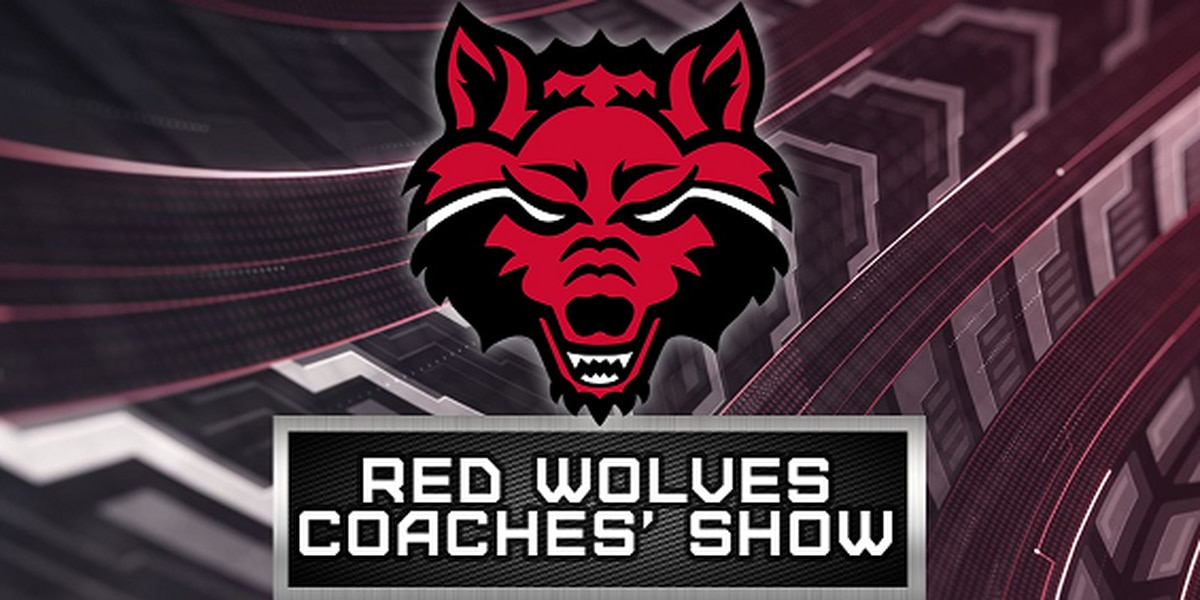 Watch the Red Wolves Coaches Show Sunday at 10:35pm on KAIT