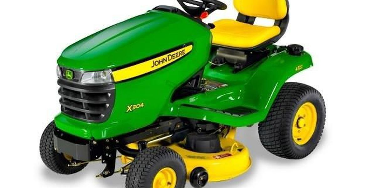 Public's help needed to find stolen lawn tractor