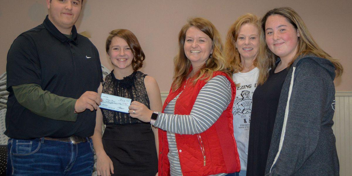Students raise money for community