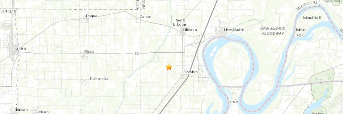 Several report feeling late-night earthquake in New Madrid Co., Mo.