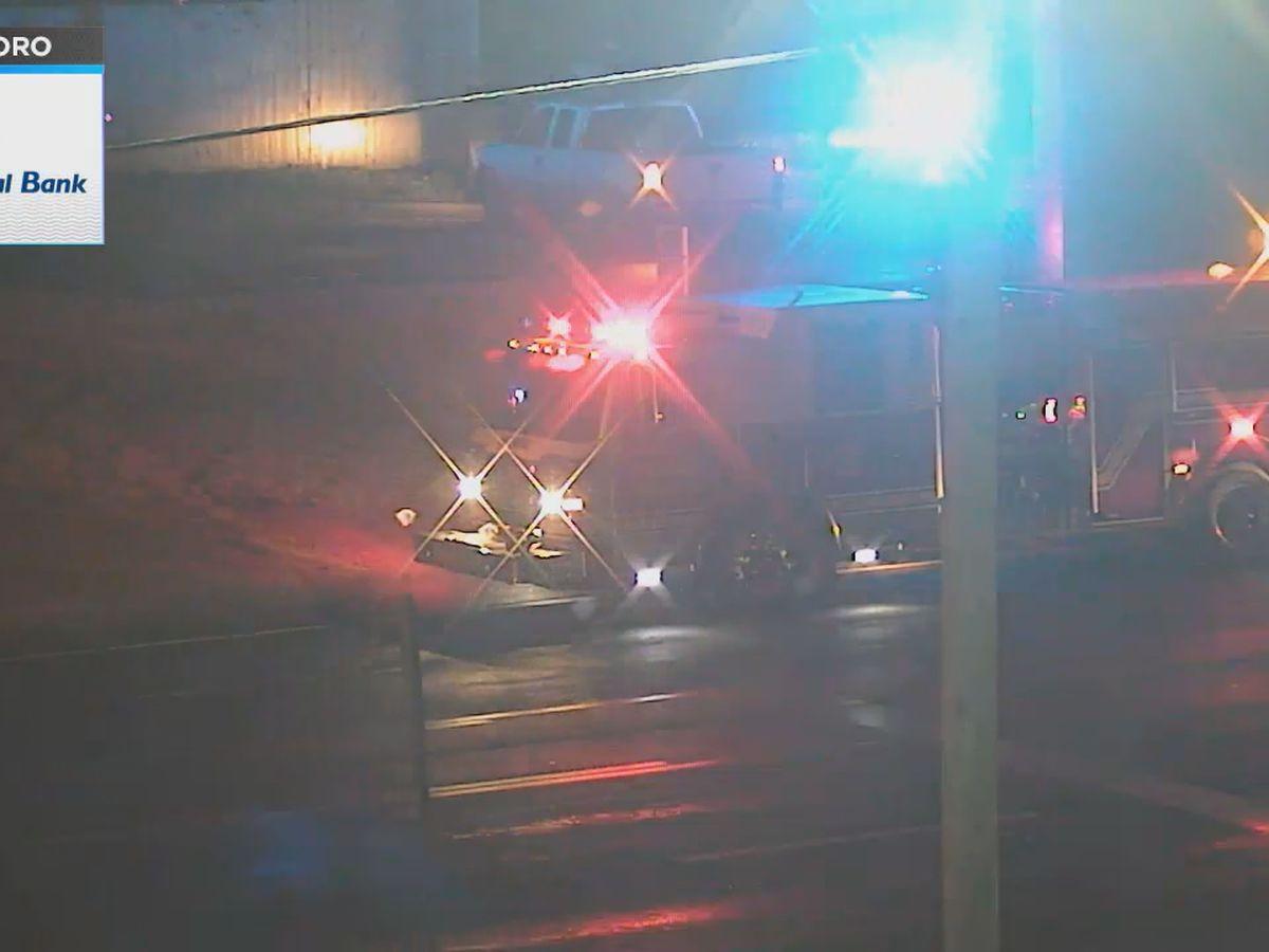Crews respond to entrapment in Jonesboro
