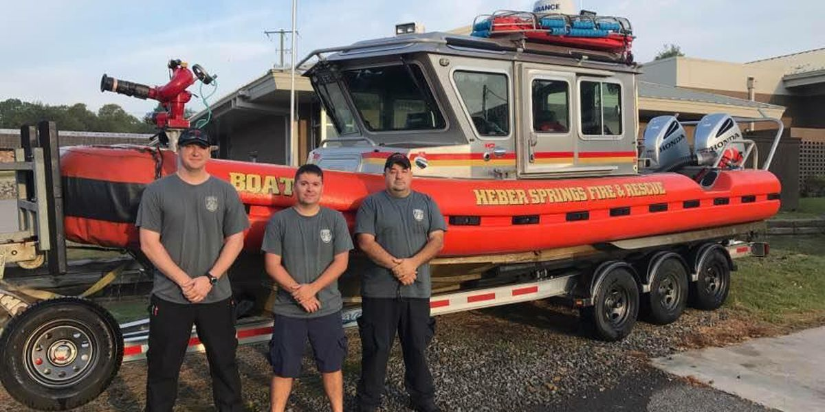 AR fire dept. boat crew sent to Texas