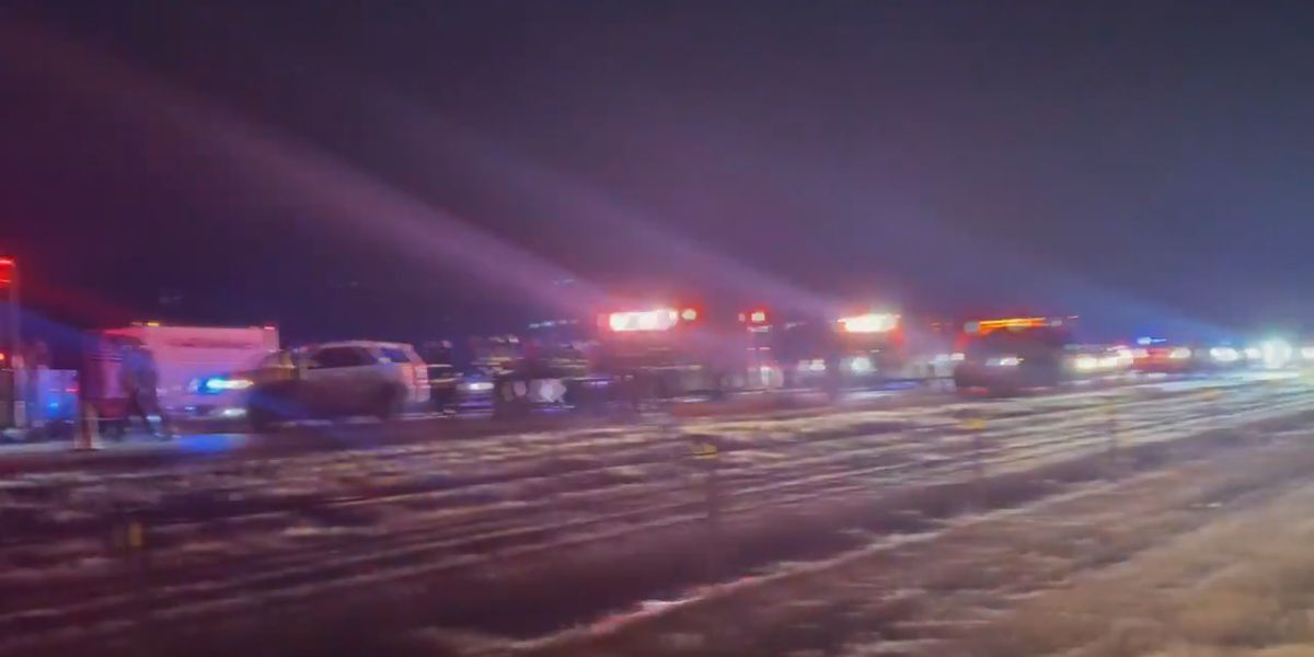 Vehicle flipped several times on I-555, injuries reported