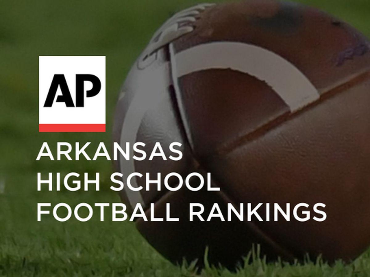 Arkansas high school football rankings, week ending Oct. 24