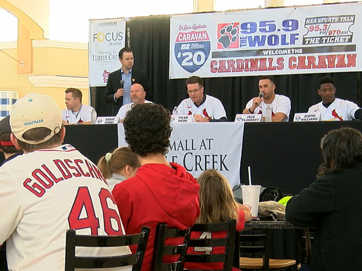 2020 Cardinals Caravan visited Jonesboro Saturday afternoon