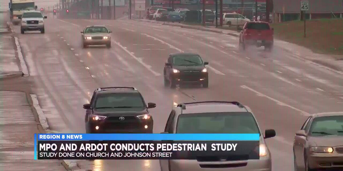MPO and ARDOT conduct pedestrian study