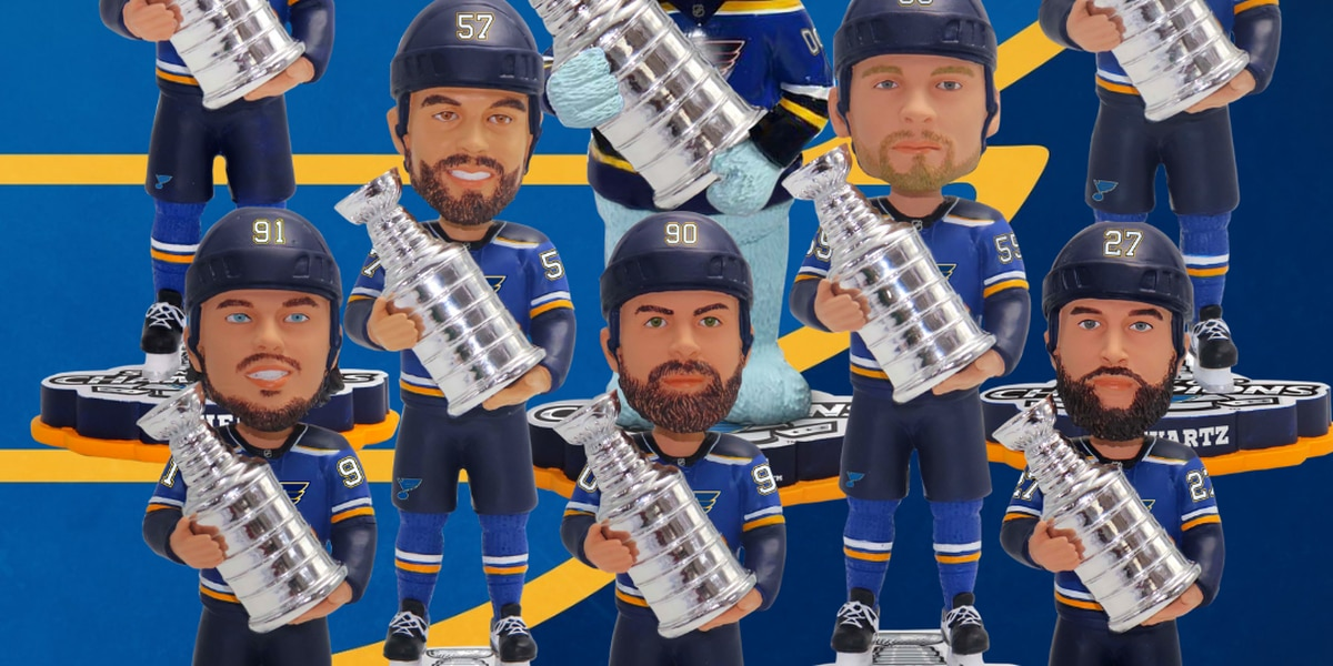 Bobbleheads coming of St. Louis Blues and super fan Laila Anderson