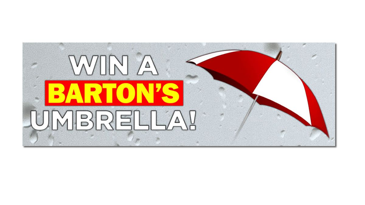 Barton's Weather Umbrella Contest Entry