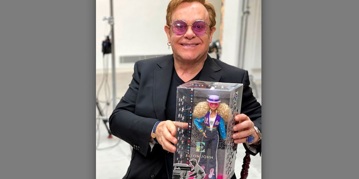 Elton John has his own Barbie doll