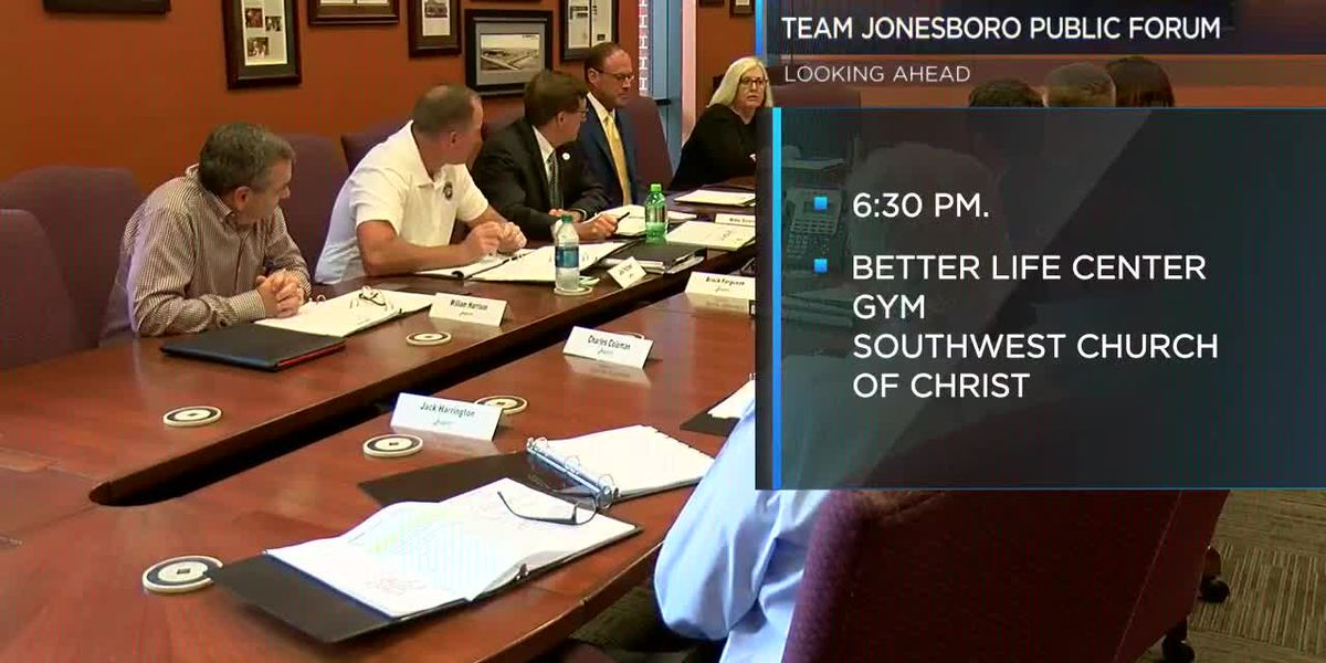 Jonesboro Neighborhood Coalition to host Team Jonesboro public forum