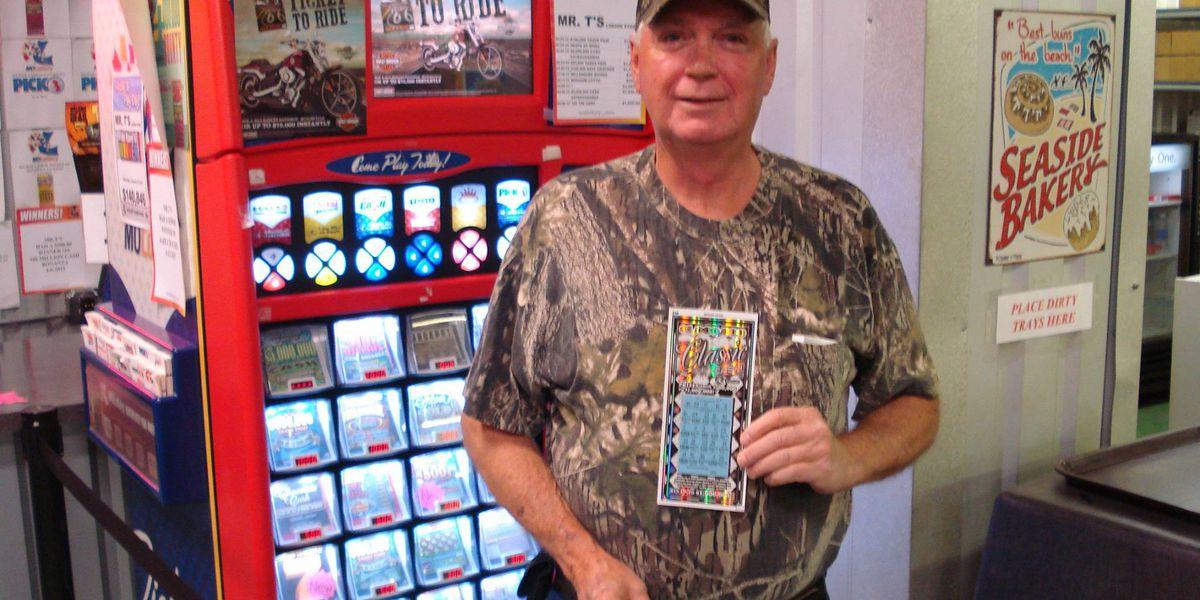 Region 8 man wins big on scratch-off ticket