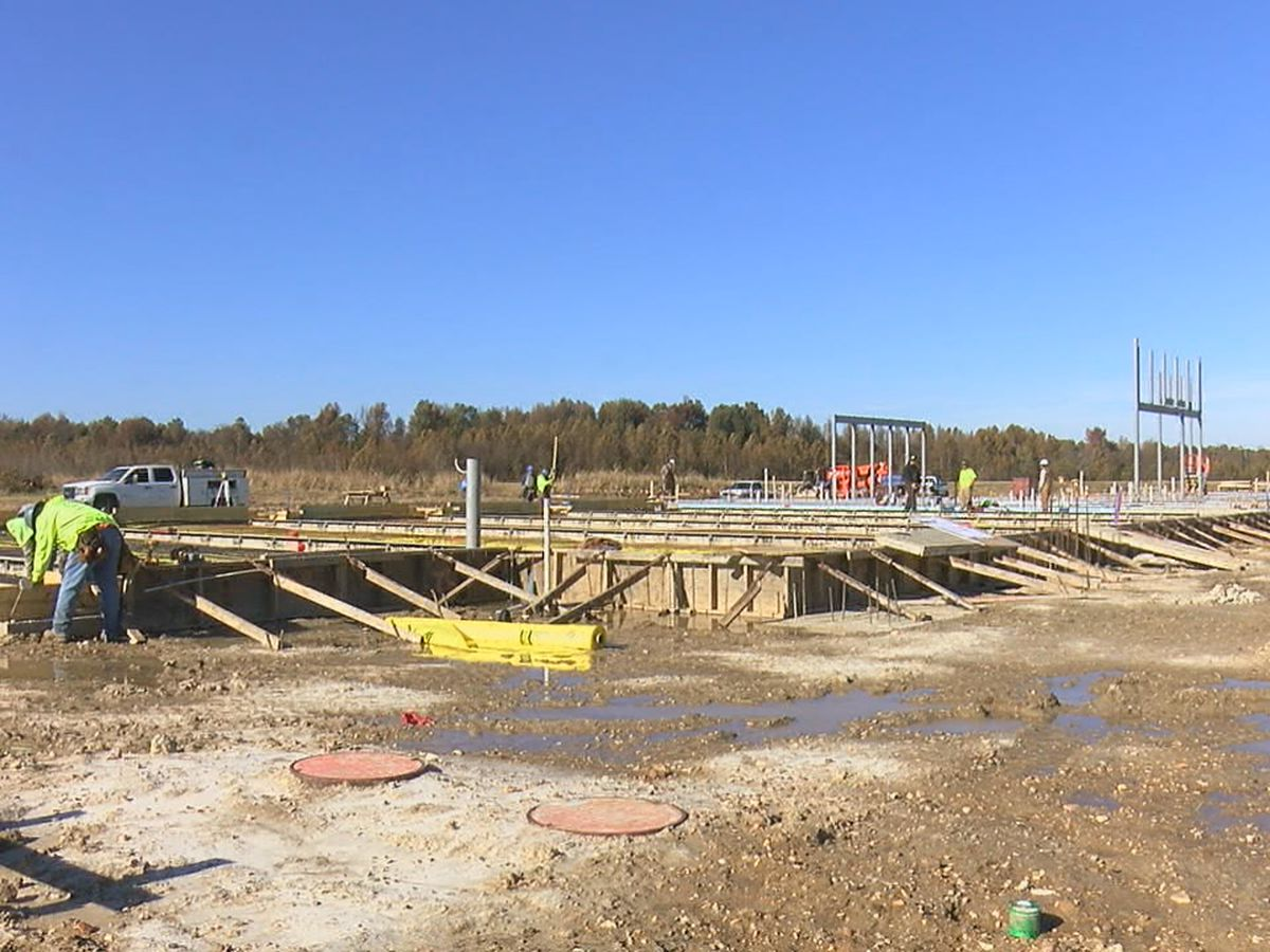 Fire station construction underway to better serve the city