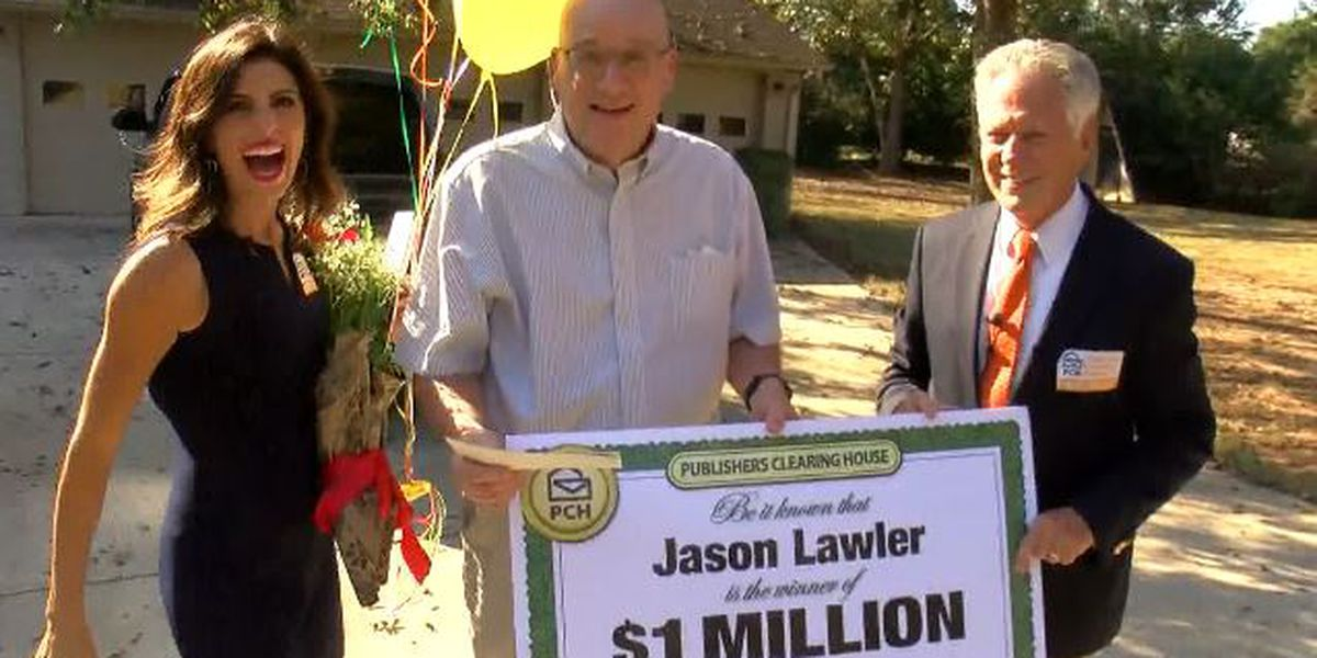 Huntsville man wins $1M surprise from Publishers Clearing House