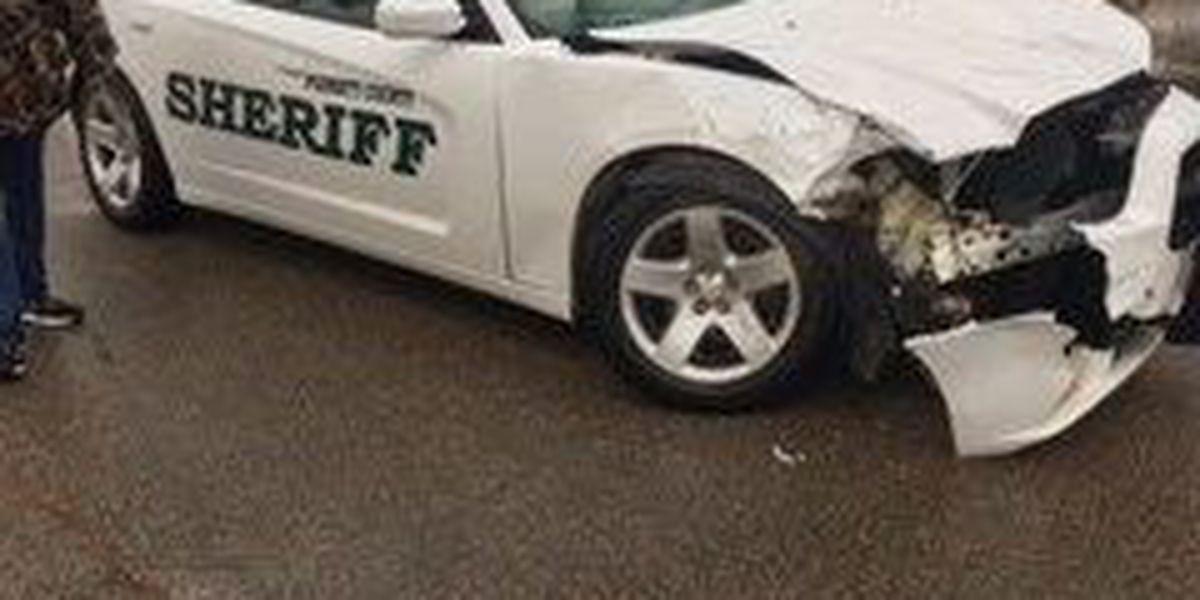 Deputy taken to hospital after crash