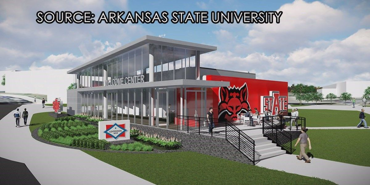 A-State, Centennial Bank break ground on Welcome Center