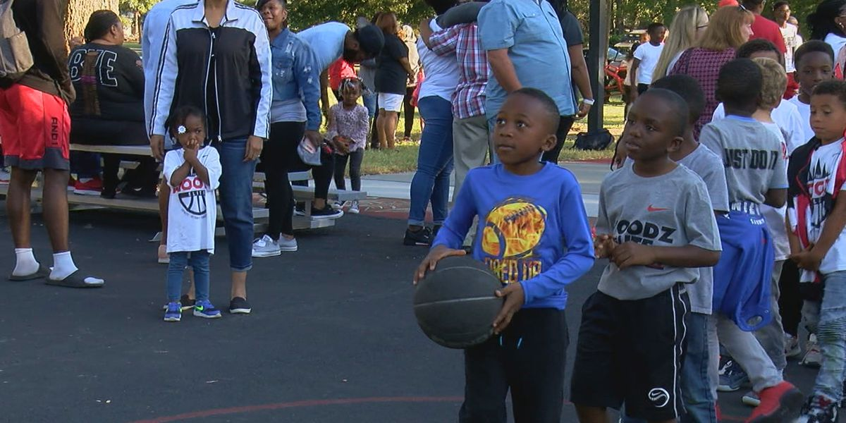 NBA player gives back to community