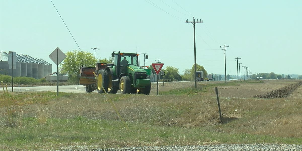 Clay County seeing crashes with more farm equipment on roads
